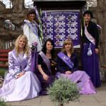 Lavendelköniginnen