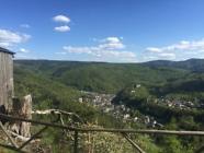 Blick auf Schwarzburg
