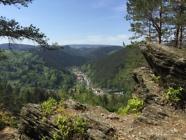 Blick auf Mellenbach